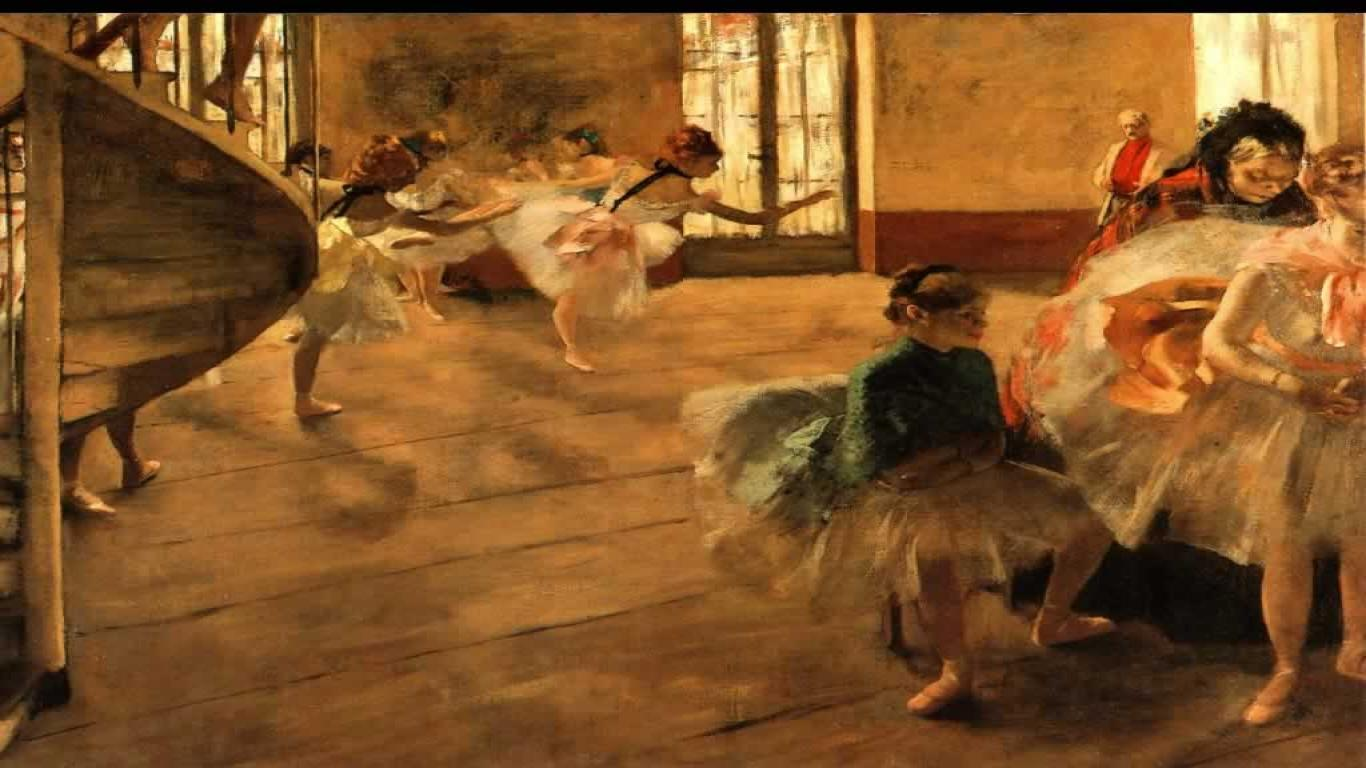 Before the Performance, Degas - 1600x1200 - ID 7561 wallpaper ...