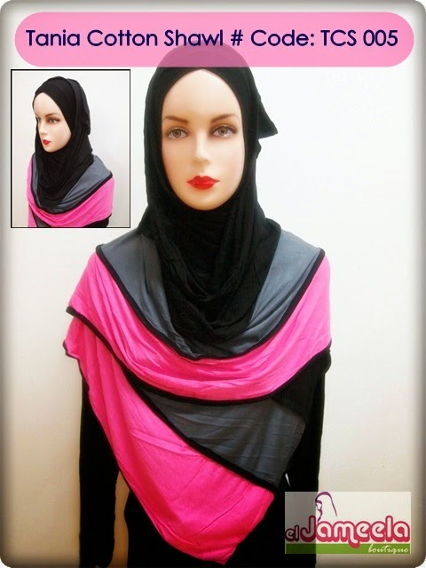 TANIA COTTON SHAWL From RM18/pcs