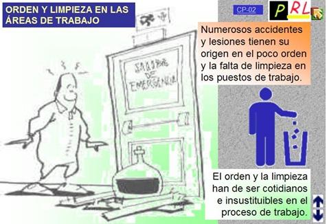 SEGURIDAD EN EL TRABAJO: TEMAS PROPUESTOS: ORDEN Y ASEO Y ...