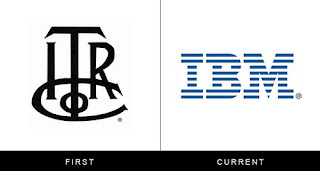 évolution du logo general ibm