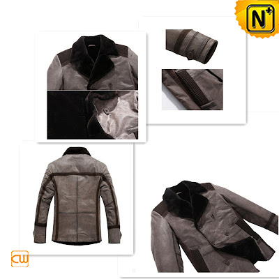 Mens Lamb Fur Coat
