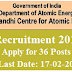 IGCAR Recruitment 2016 – Apply for 36 Turner, Machinist, Electrician & Other Posts