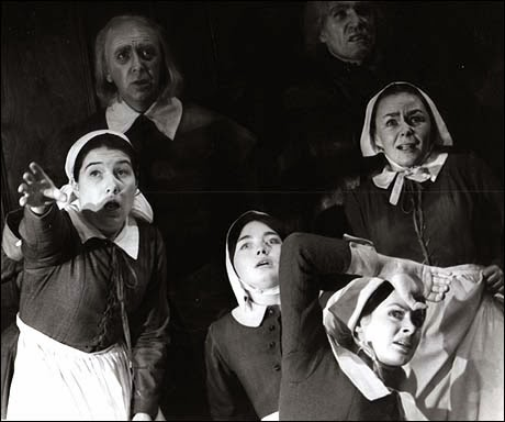the crucible by arthur miler a battle of truth and lies Parallels to the witch trials and events in the crucible the salem witch trials and mccarthyism: parallels in public hysteria  playwright arthur miller had more.
