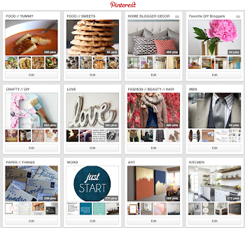 Follow Honey We're Home on Pinterest