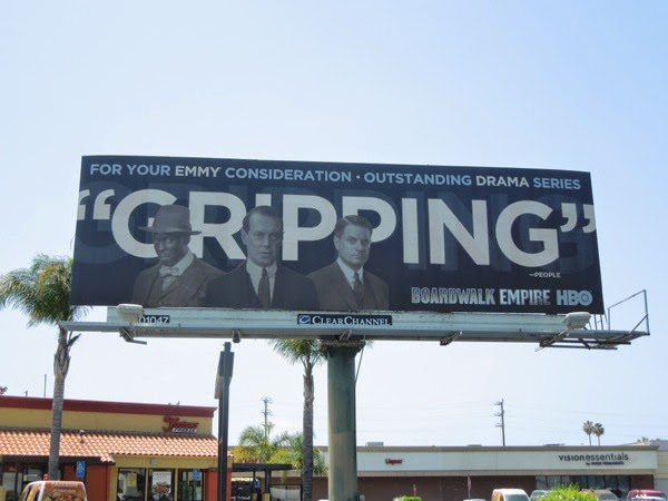 Boardwalk Empire season 4 Gripping HBO Emmy 2014 billboard