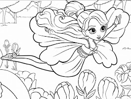Paper Doll Coloring Pages For Girls