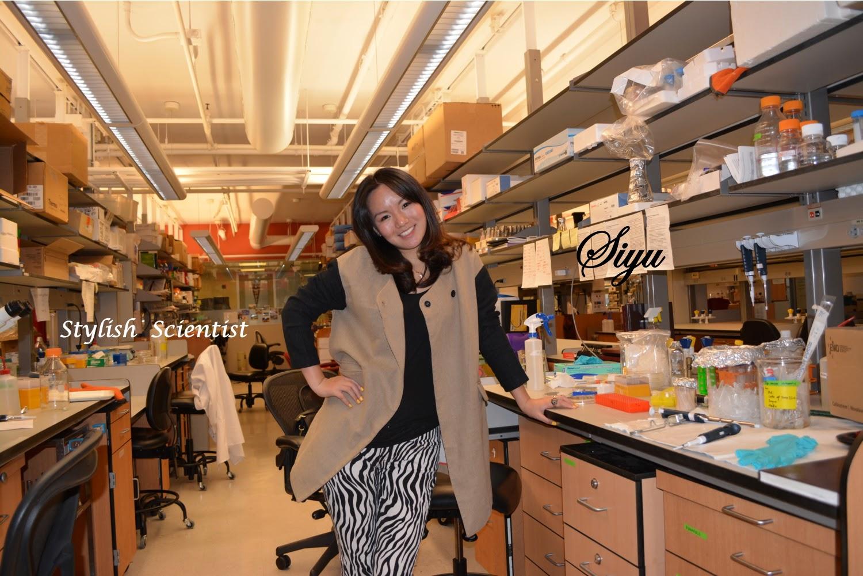 stylish scientists, new york university research, nyu stylish scientists, nyu scientists, siyu from nyu, science and style, science and fashion, chic scientists, zebra pants