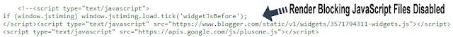 JavaScript disabled