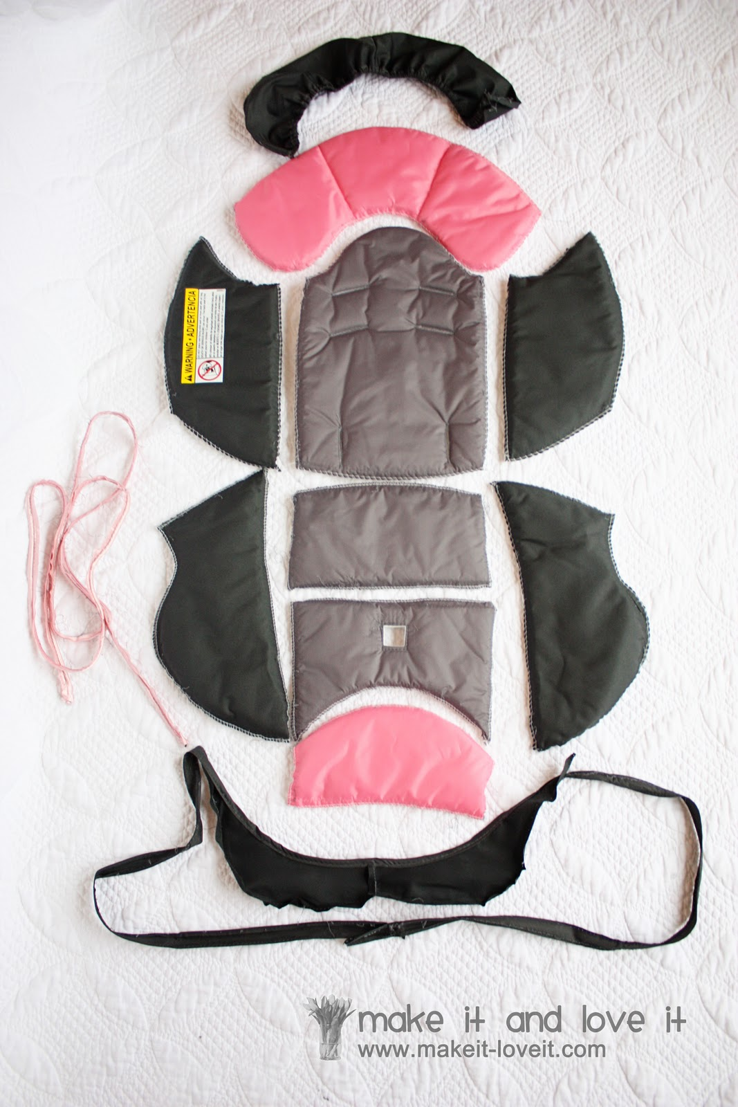 Recovering A Baby Car Seat Make It And Love