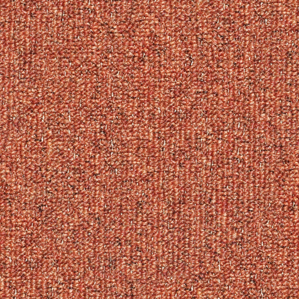 Seamless Fabric Orange Red Carpet Floor Texture