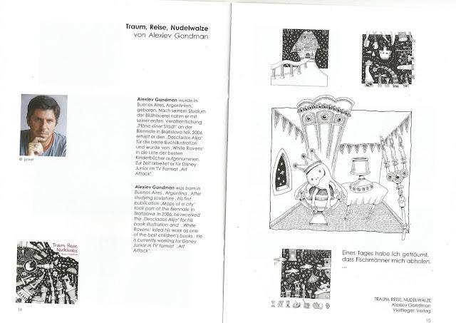 ilustrador alexiev gandman muestra de los originales del. Black Bedroom Furniture Sets. Home Design Ideas