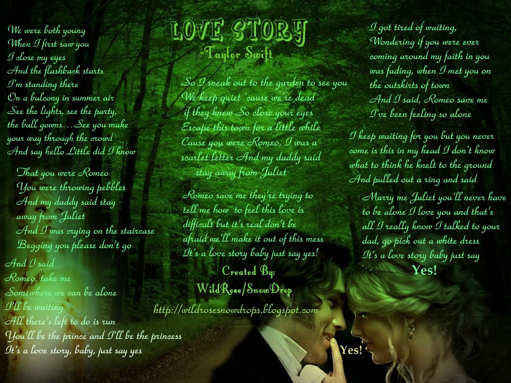 story lyrics just