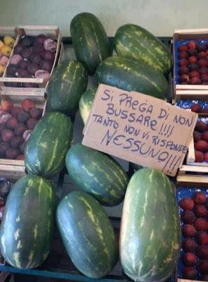 итальянский язык объявление