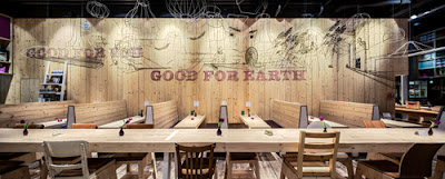 Japanese restaurant WakuWaku designed by Ippolito fleitz Group