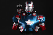 Iron Man assisted by War Machine (ineptly renamed Iron Patriot, .