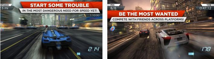 Need for Speed Most Wanted v1.3.69 APK DATA