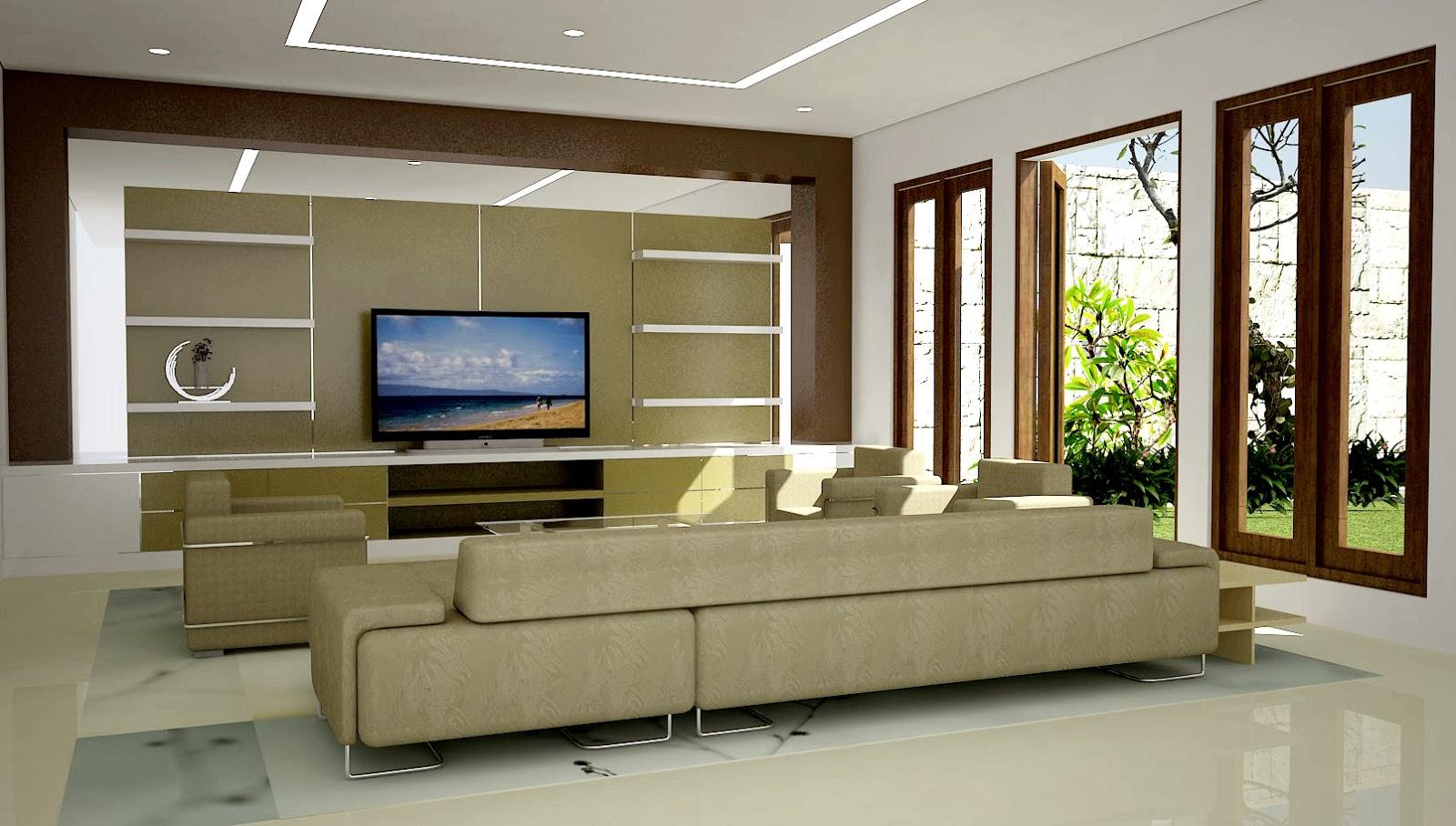 Desain interior rumah minimalis modern lega for Design interior modern minimalis