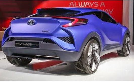 2016 Toyota CH-R interior