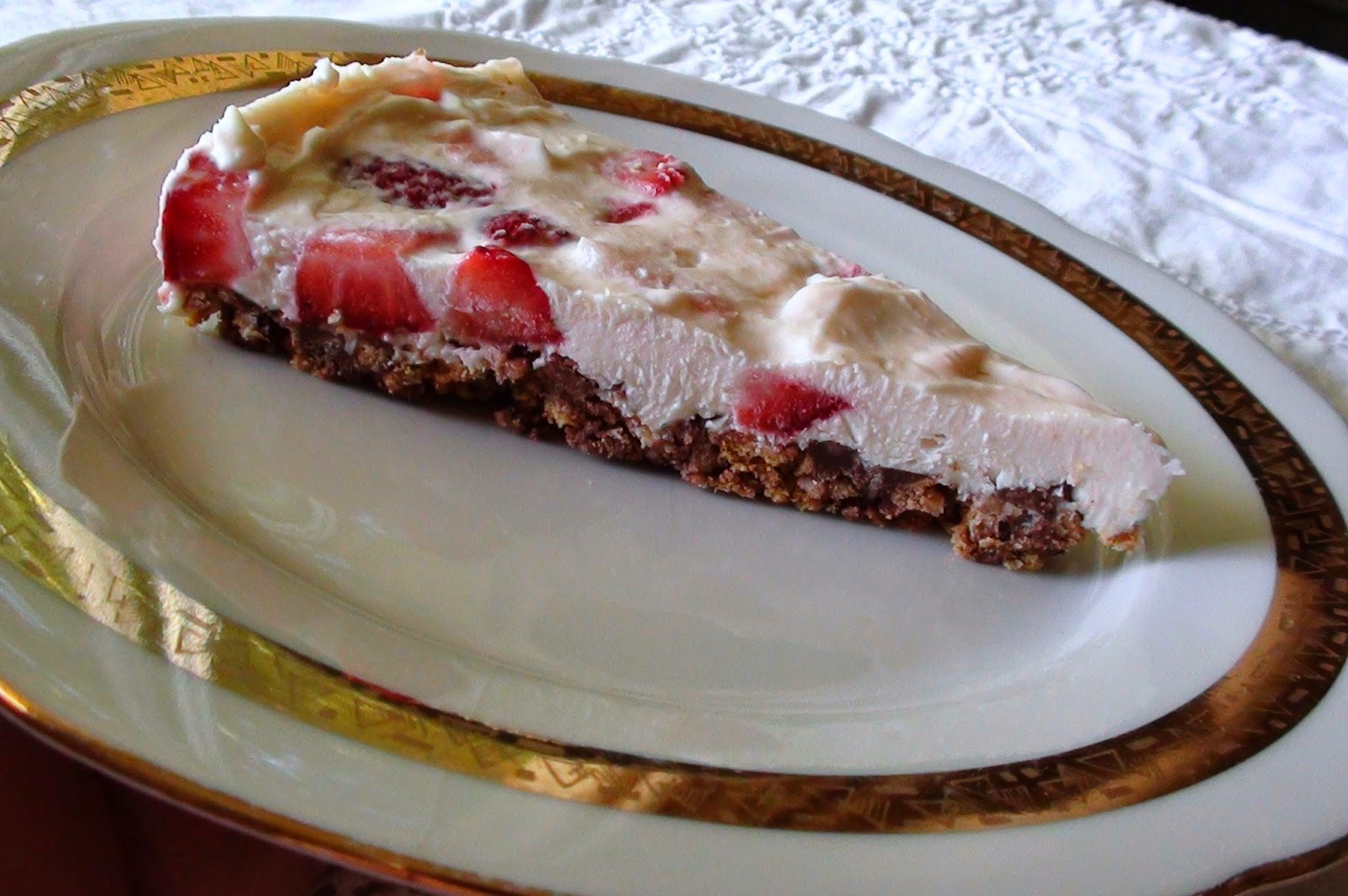 Strawberry-Chocolate Freezer Pie Recipes — Dishmaps