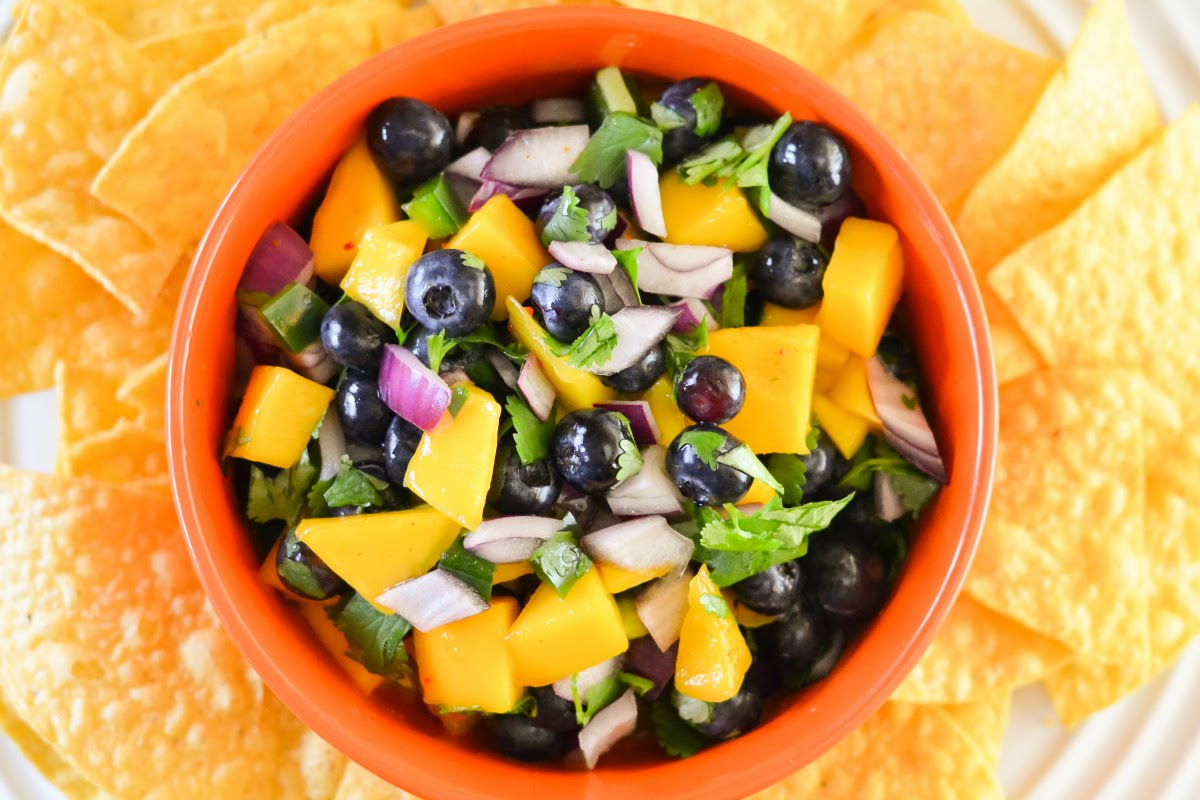 Blueberry Mango Salsa