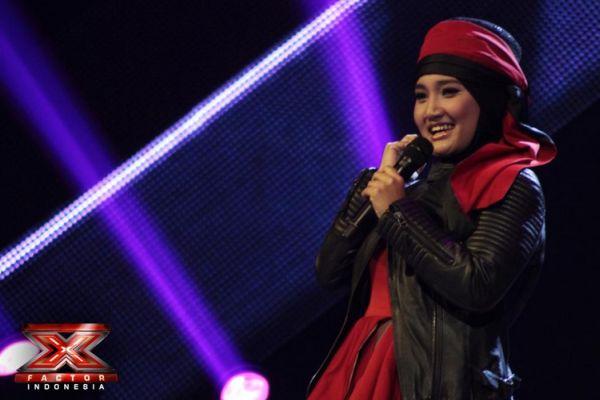 Factor Indonesia, Fatin Shidqia Lubis memperoleh sebuah lagu baru ...