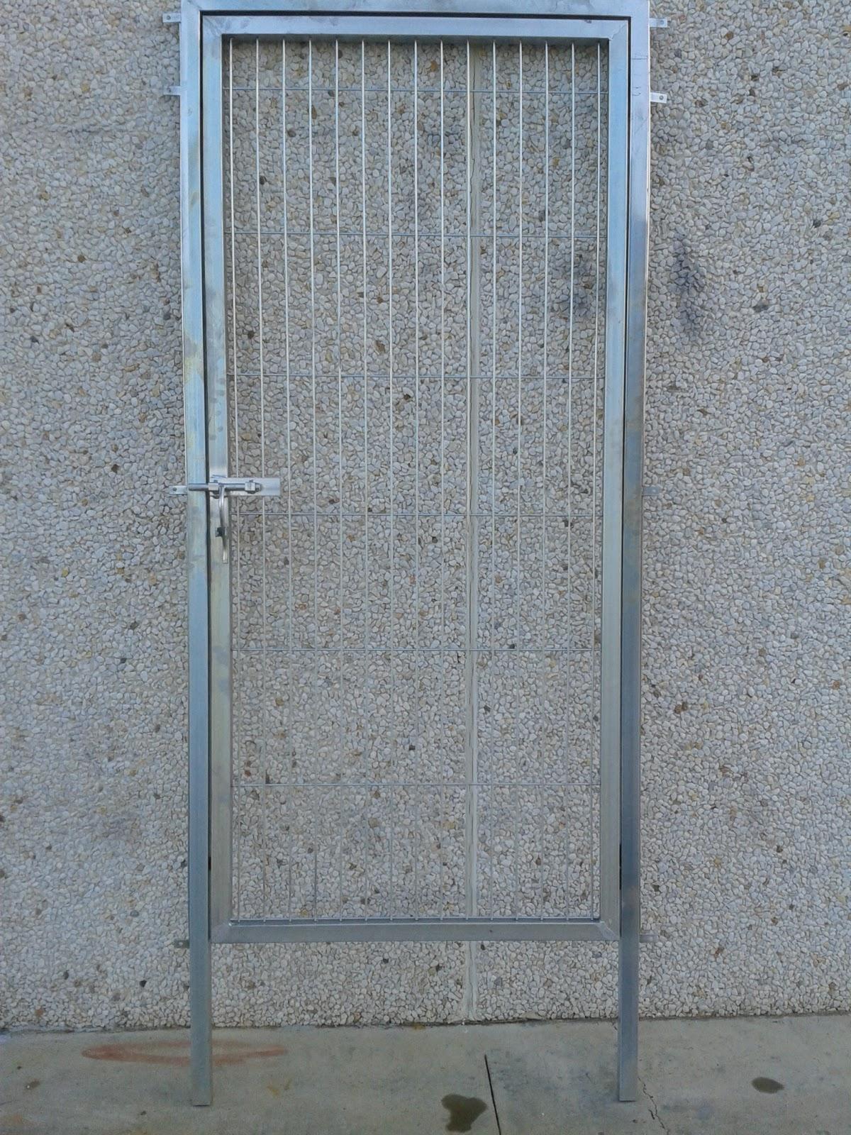 Cercados gp puertas de paso for Puertas galvanizadas