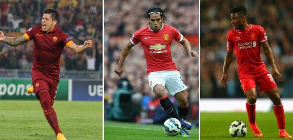 Liverpool Transfer News - Juan Iturbe, Radamel Falcao and Raheem Sterling
