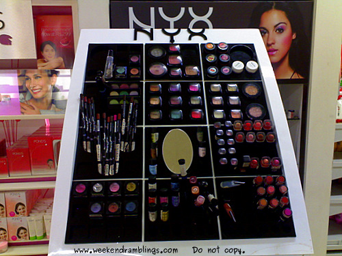 Hypercity Mall Brookfields Bangalore NYX Outlet Counter Makeup Shopping