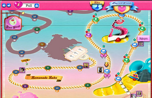 tai game candy crush saga