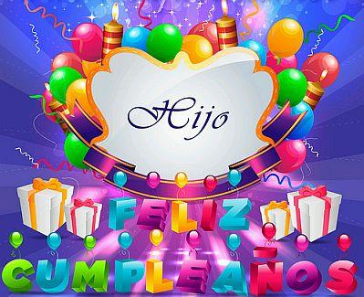 Banco De Imagenes Y Fotos Gratis Feliz Cumpleaños Hijo