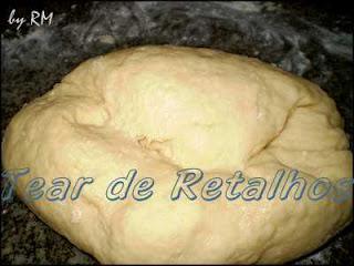 Massa do pão de queijo mineiro