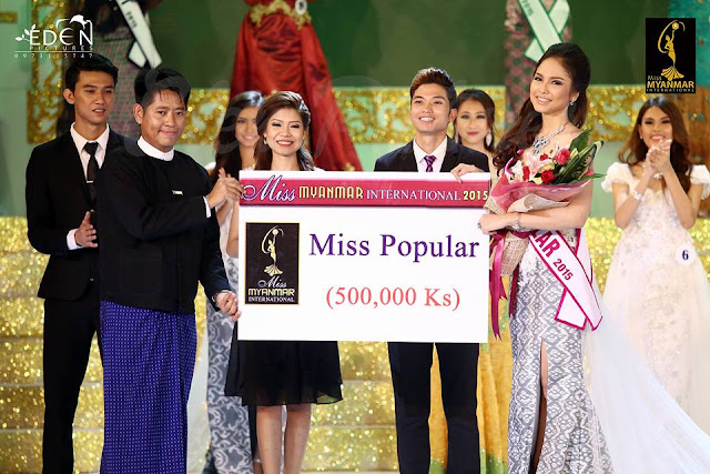 Miss Myanmar International 2015 Photos