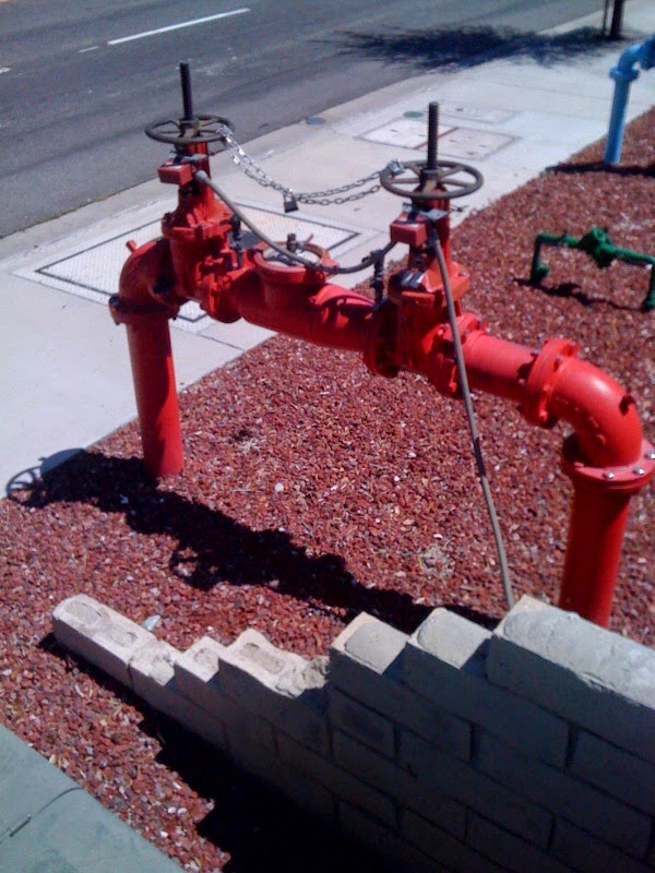 Backflow Preventor OS&Y For Fire Alarm Sprinklers