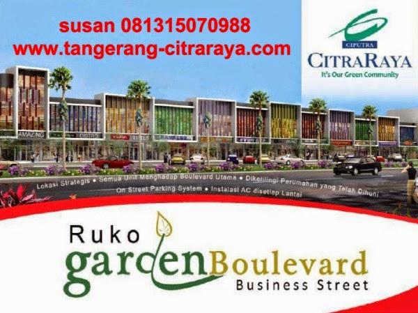 ruko garden boulevard