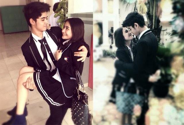 Foto Romantis Aliando dan Prilly Latuconsina GGS