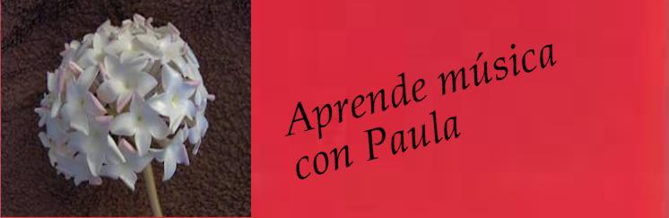 Aprende música con Paula