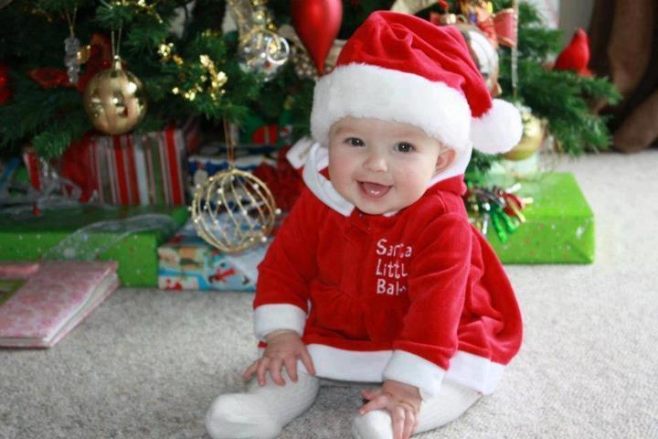 Christmas Baby Wallpaper Hd Desktop Wallpaper Collections