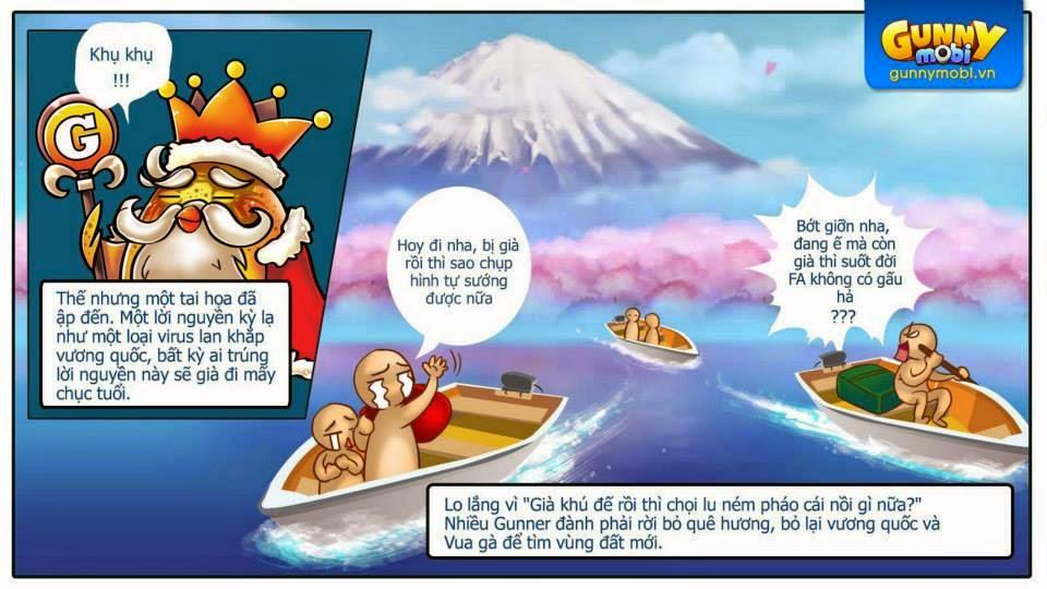 Gunny mobi truyền kỳ Chương 1: Vương quốc lâm nguy phần 3