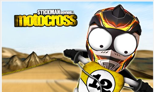 Tải game Android Stickman Downhill Motocross miễn phí