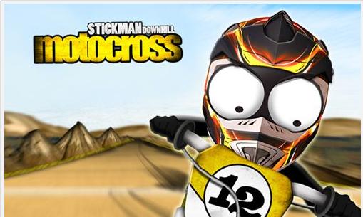 Tải game Android Stickman Downhill Motocross miễn phí