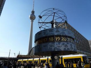Alexanderplatz, berlin, weltzeituhr, fersehturm