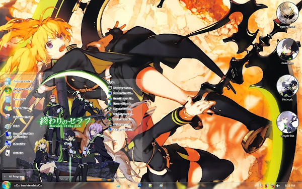 / Theme Windows 7 / Owari no Seraph 2