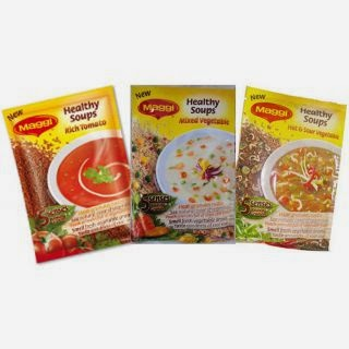 Maggi Healthy Soup - Set of Three worth Rs. 135 @ Rs. 59 at shopclues