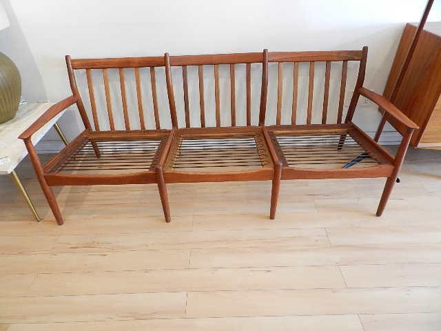 Teak Sofa Designed By Grete Jalk Denmark C 1960s 73 5