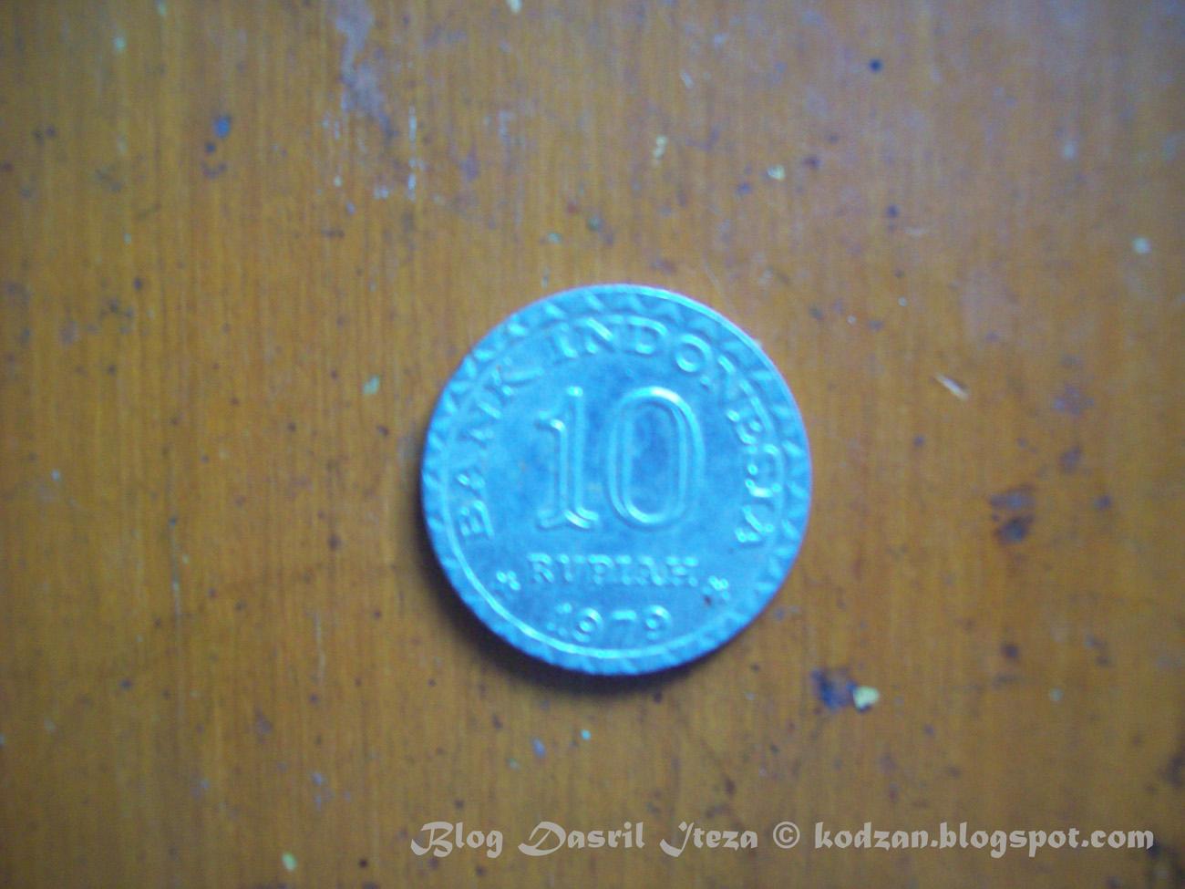 Koleksi baik koin uang logam maupun uang kertas kuno saya