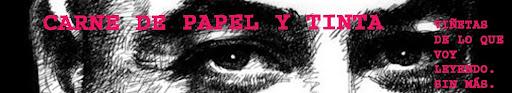 CARNE DE PAPEL Y TINTA