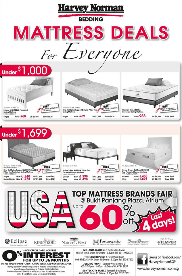 Harvey Norman Top Mattress Brands Fair b777a7f98be3b