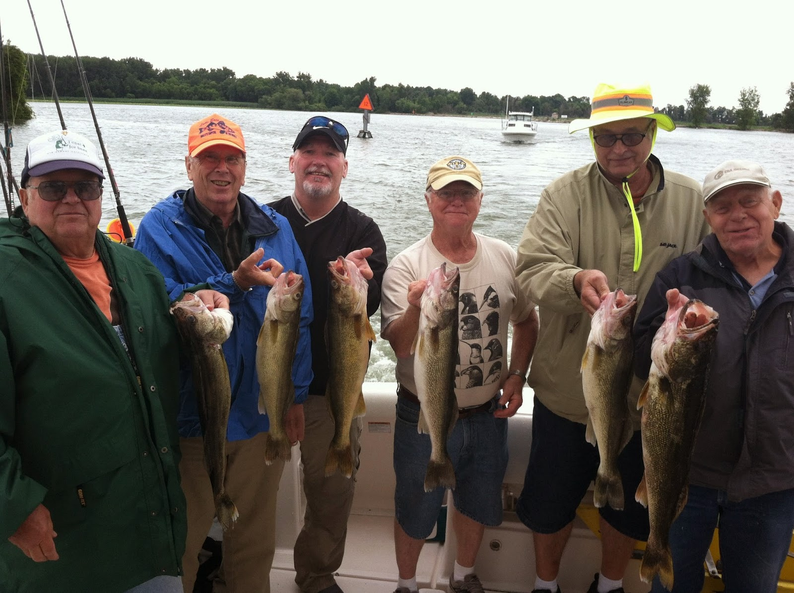 Lake erie walleye fishing reports august 2014 for Odnr fishing report