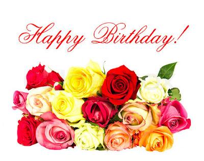 ramo de rosas happy birthday