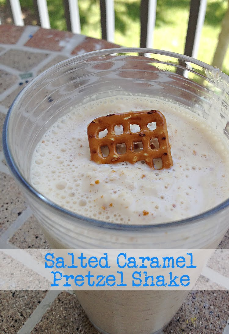 dancing with my Father: Salted Caramel Pretzel Shake